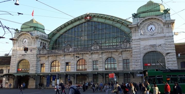 Estación central de Basilea