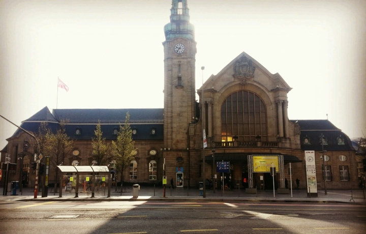Luxemburg train station