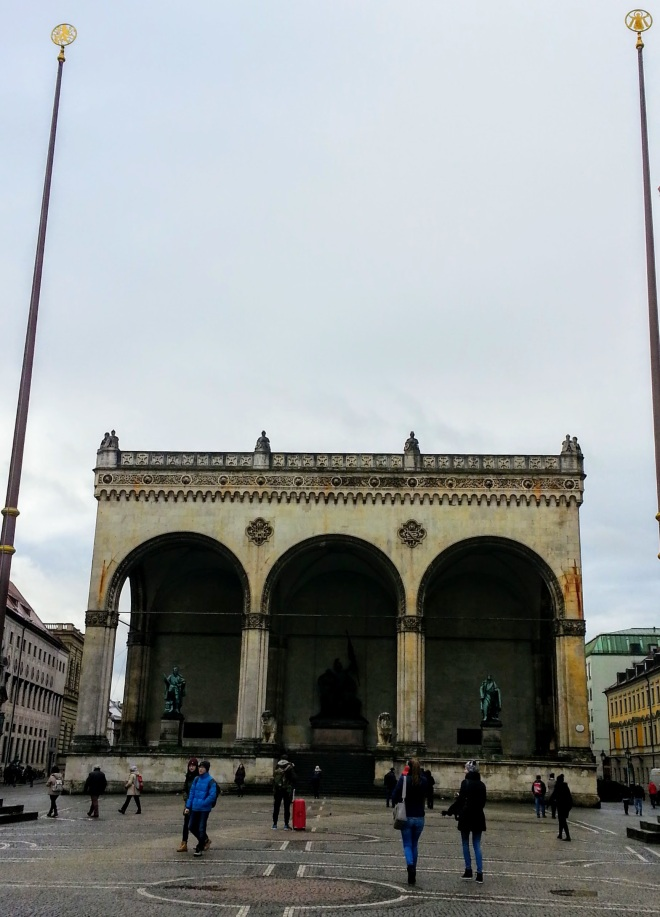 Odeonplatz Múnich
