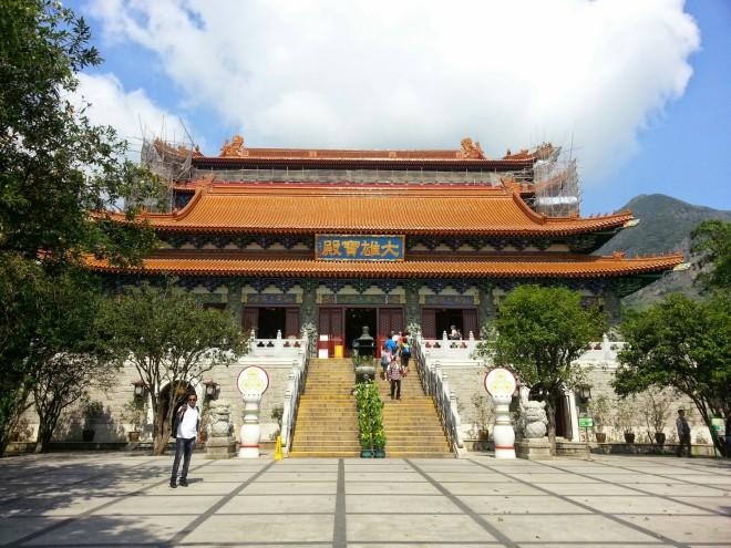 Po Lin Monasterio