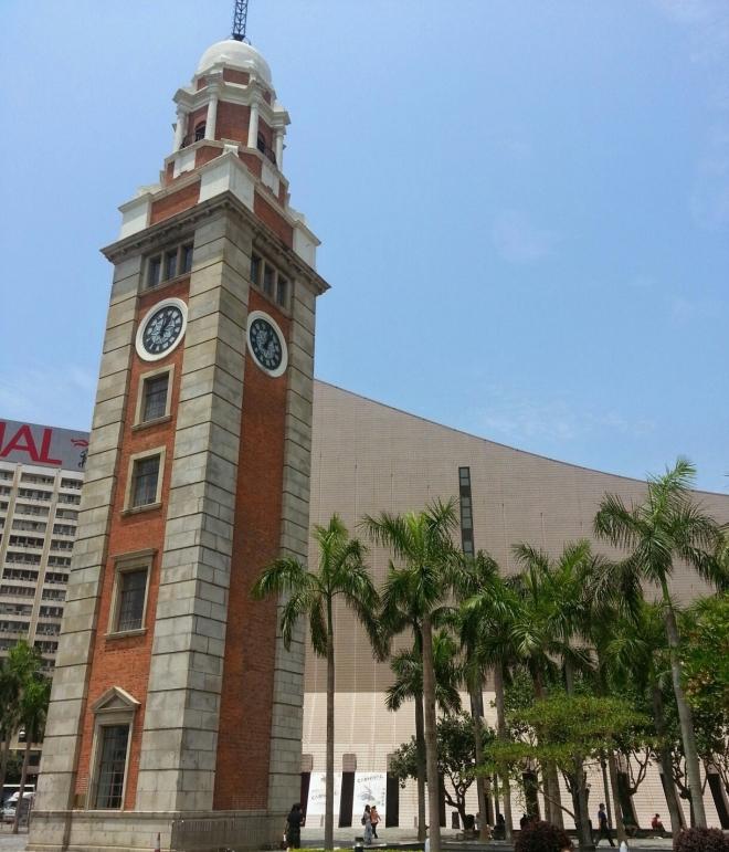 Torre del reloj Hong Kong