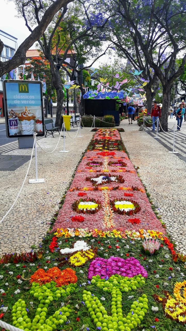 Fiesta de la flor en Madeira Portugal