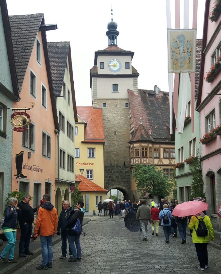 Calles de Rothenburg Ob der Tauber