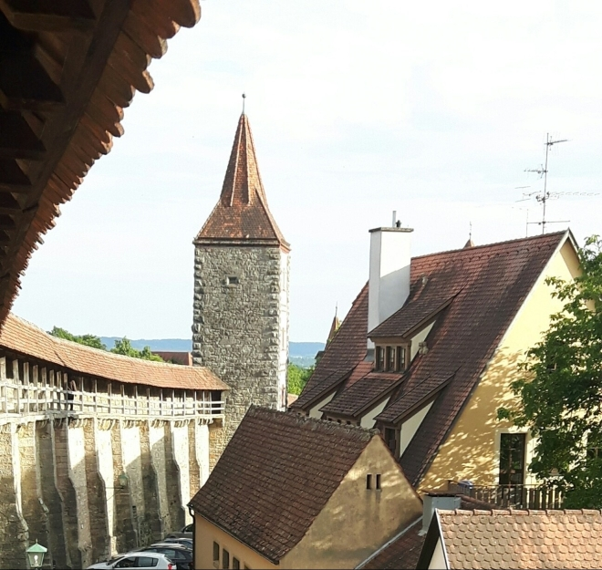 Murallas Rothenburg ob der Tauber