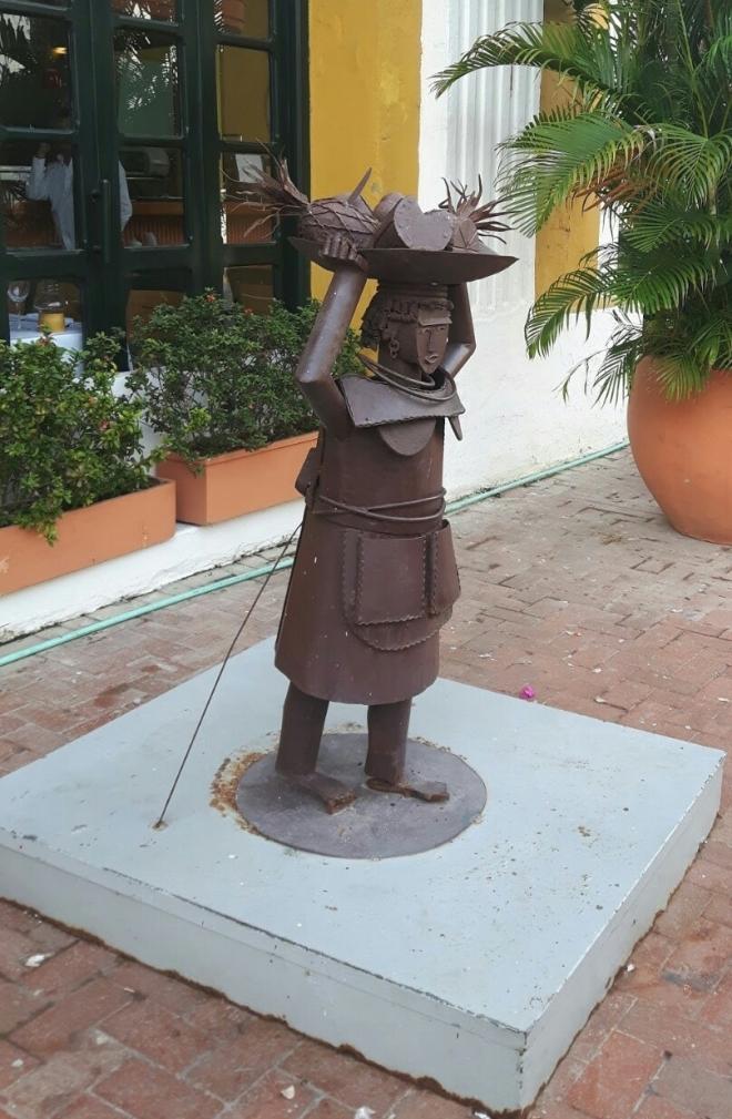 Estatua de las palenqueras