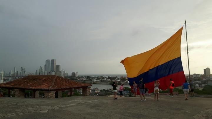 Visita al Castillo San Felipe de Barajas