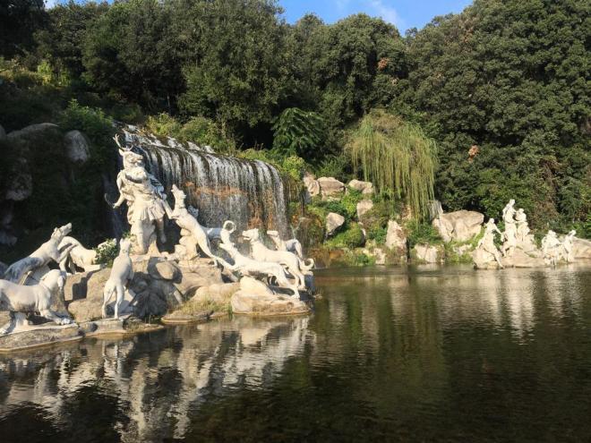 Jardines del Palacio de Caserta