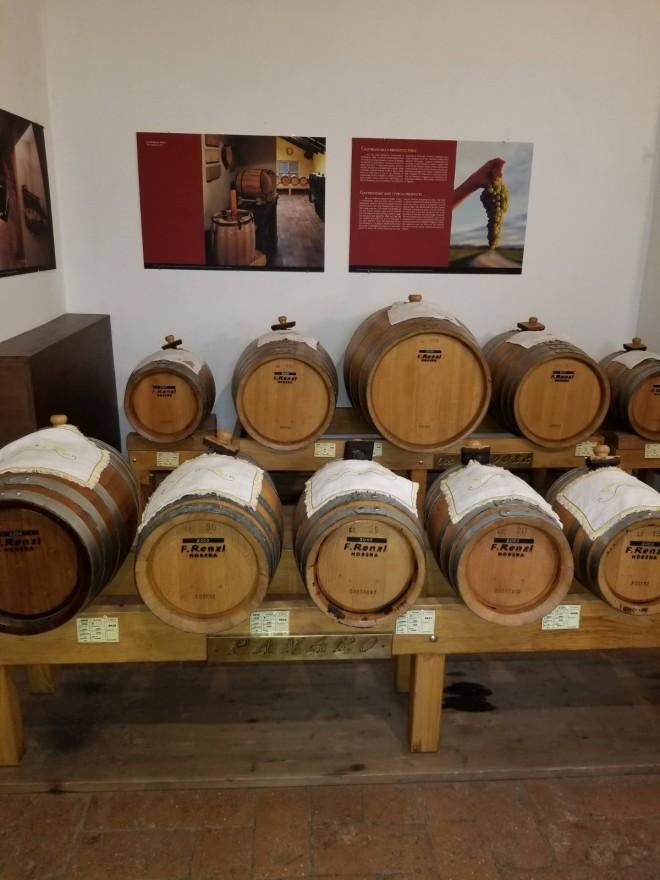 Tour del aceite balsamico en Módena